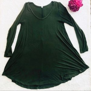 Tops - Olive Green Tunic Top